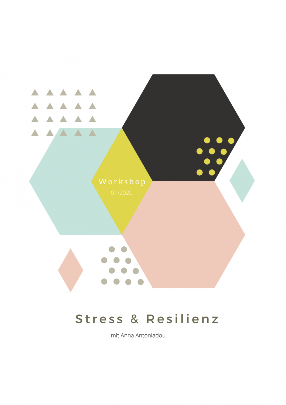 Deckblatt Stress & Resilienz Workshop